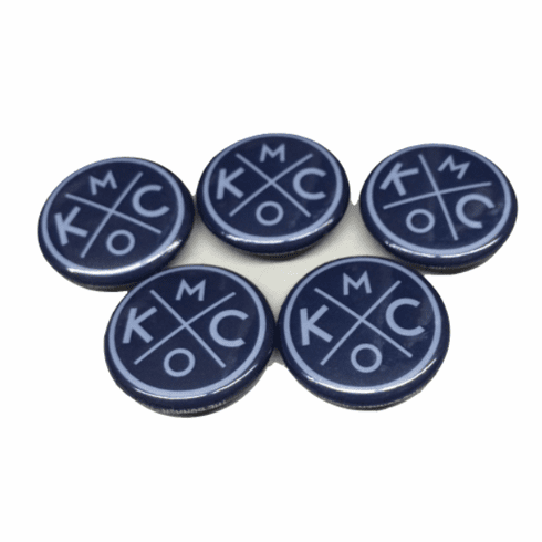 BunkerMade Kansas City Pins 5-Pack<br>All Blue
