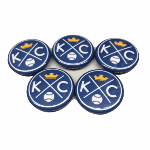 BunkerMade Kansas City Pins 5-Pack<br>KC Crown