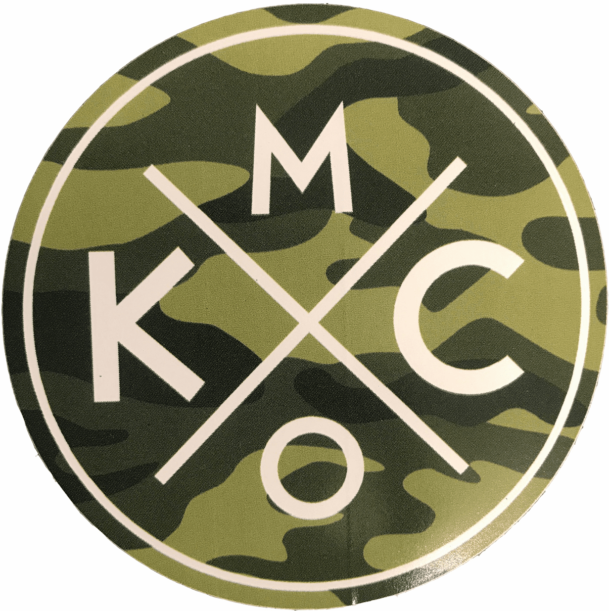 BunkerMade Kansas City Sticker<br>Camo