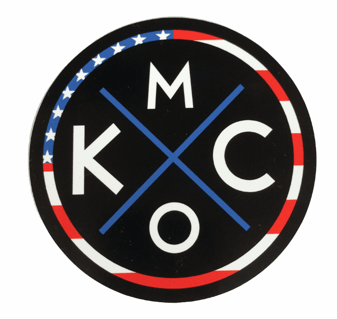 BunkerMade Kansas City Sticker<br>'MERICA