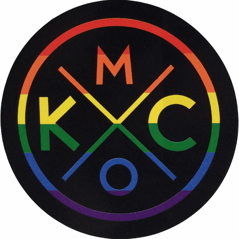 BunkerMade Kansas City Sticker<br>Rainbow
