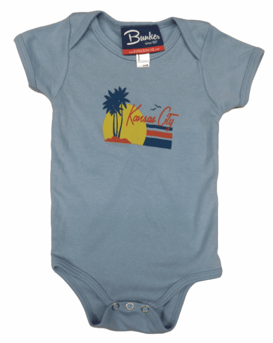 Bunkermade KCMO Infant Onesies<br>Vacation