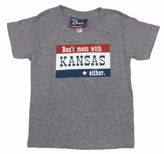 Bunkermade KCMO Toddler & Youth<br>Don't Mess With Kansas