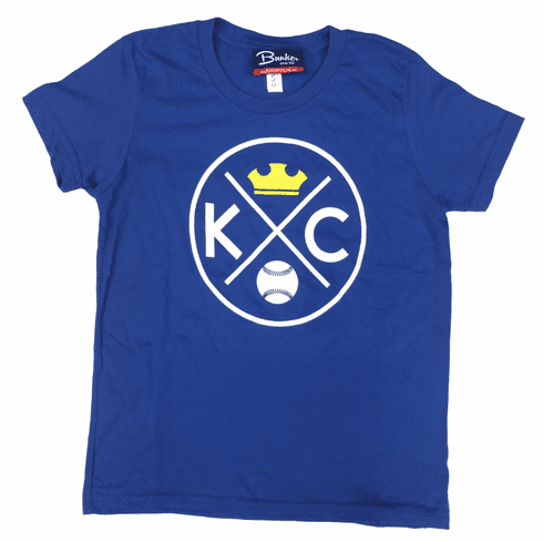 Bunkermade KCMO Toddler & Youth<br>KC Crown Tee