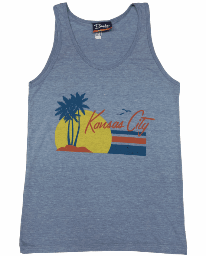 BunkerMade KCMO Unisex Tank Top<br>Paradise