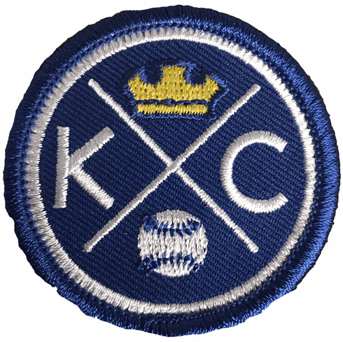 Bunkermade Small KCMO BaseballPatch