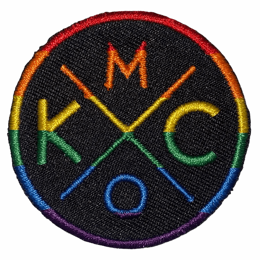 Bunkermade Small KCMO Rainbow Patch