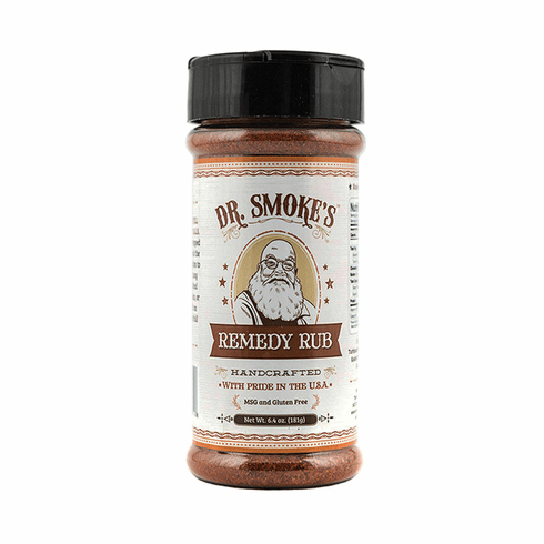 Dr Smoke's Remedy Rub