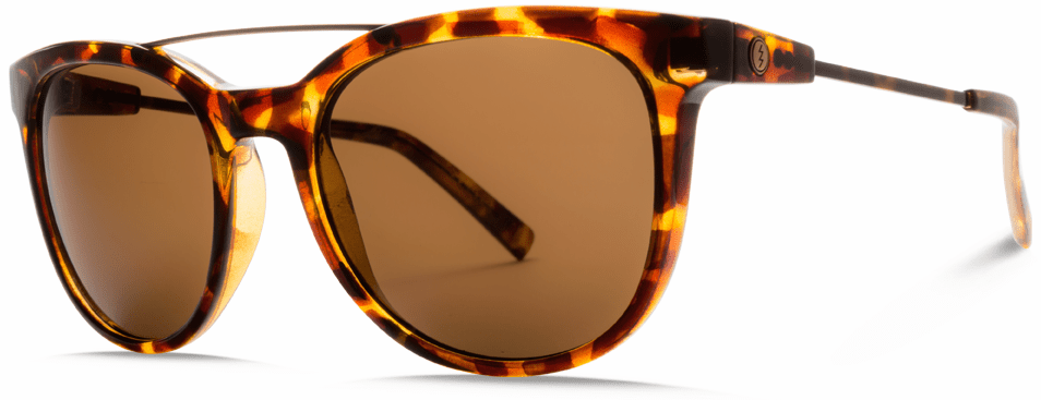 (SALE!!!) Electric Bengal Wire Sunglasses<br>Gloss Tortoise/Melanin Bronze Polarized