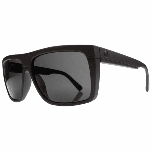 Electric Black Top Sunglasses<br>Matte Black/Melanin Grey