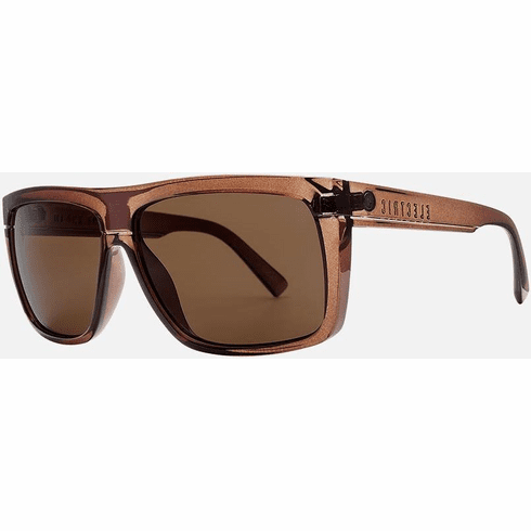 Electric Black Top Sunglasses<br>Mono Bronze/Bronze Polarized