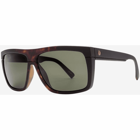 Electric Black Top Sunglasses<br>Tobacco Tort Burst/Grey Polarized