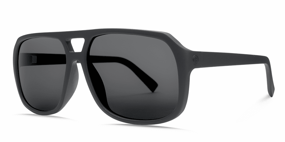 Electric Dude Sunglasses<br>Matte Black/OHM Grey