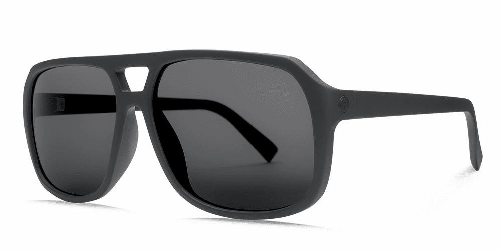 Electric Dude Sunglasses<br>Matte Black/OHM Grey Polarized