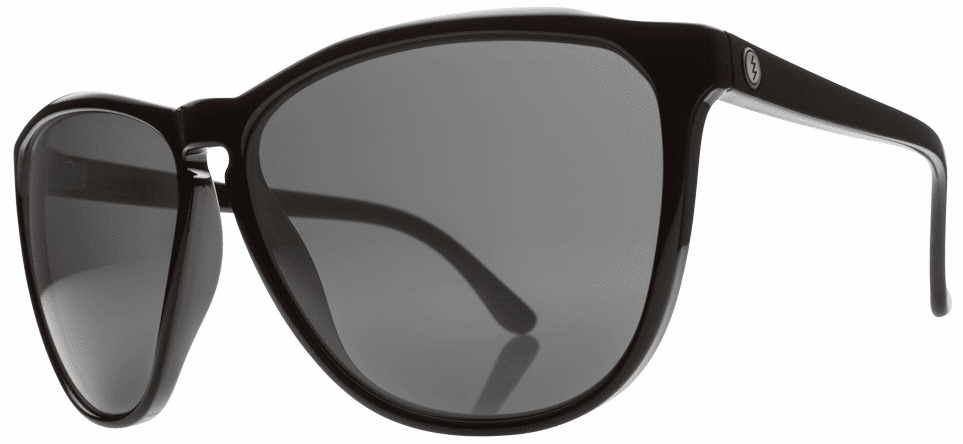 Electric Encelia Sunglasses<br>Gloss Black/Melanin Grey