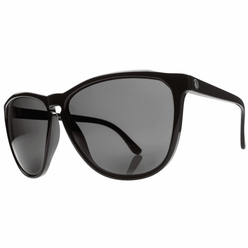 Electric Encelia Sunglasses<br>Gloss Black/Melanin Grey Polarized<br>Level I