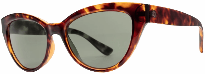 Electric Indio Sunglasses<br>Gloss Tort/Grey Polarized