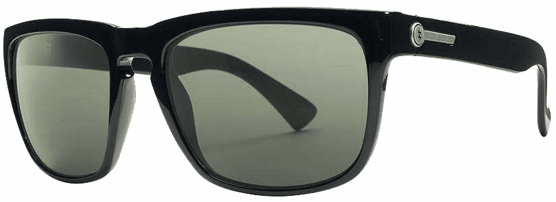 Electric Knoxville Sunglasses<br>Gloss Black/Grey Polarized Mineral Glass
