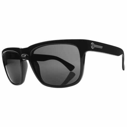 Electric Knoxville  Sunglasses<BR>Gloss Black/Melanin Grey