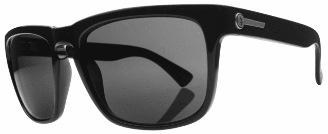 Electric Knoxville Sunglasses Gloss Black/Grey Polarized