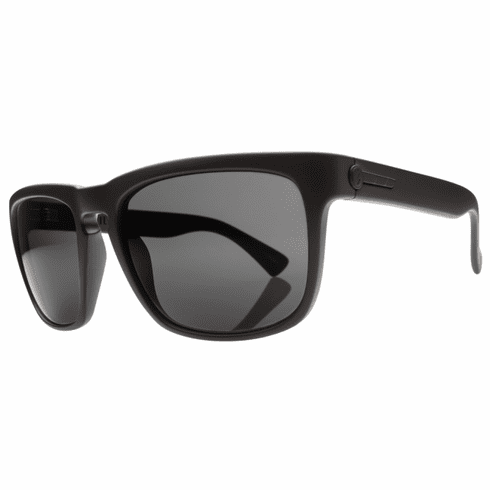 Electric Knoxville Sunglasses<BR>Matte Black/Melanin Grey