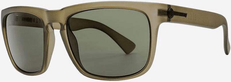 Electric Knoxville Sunglasses<BR>Matte Olive/Grey Polarized