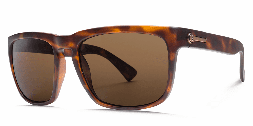 Electric Knoxville Sunglasses Matte Tort/Bronze Polarized