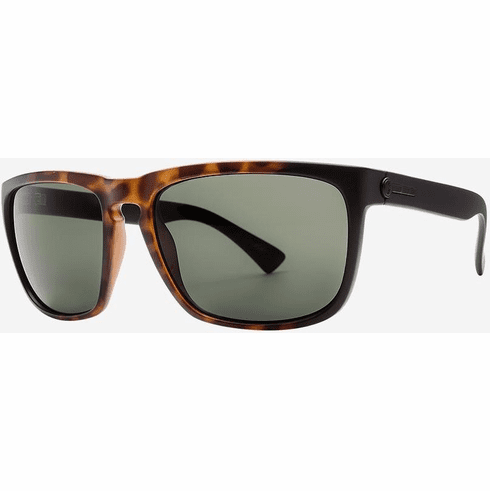 Electric Knoxville Sunglasses<BR>Tort Burst/OHM Grey Polarized