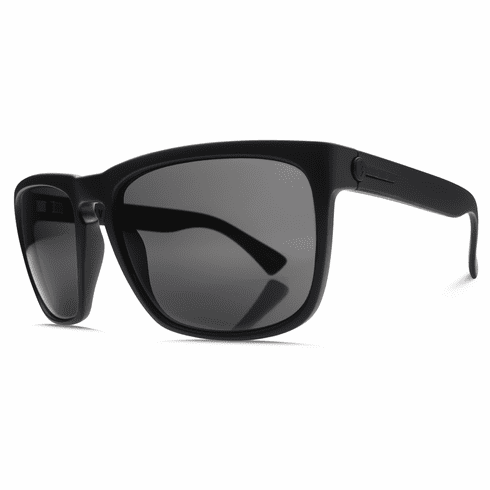 Electric Knoxville XL Sunglasses<br>Matte Black/Melanin Grey Polarized<br>Level I