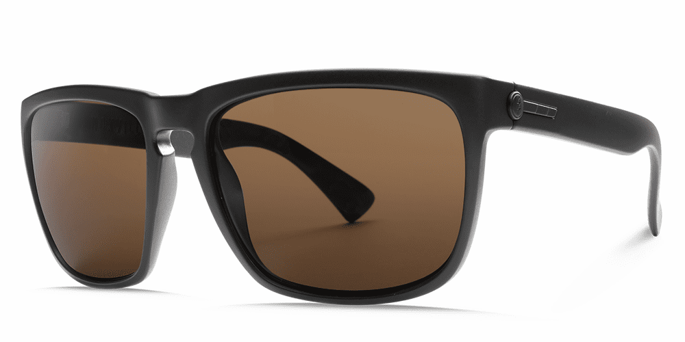 Electric Knoxville XL Sunglasses<br>Matte Black/OHM Bronze Polarized
