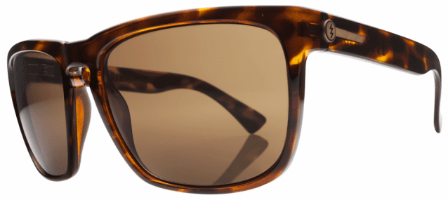 Electric Knoxville XL Sunglasses<br>Gloss Tortoise/Bronze Polarized