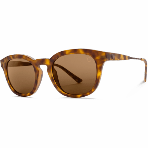 (SALE!!!) Electric LA TXOKO Sunglasses<br>Matte Spotted Tort/OHM Bronze