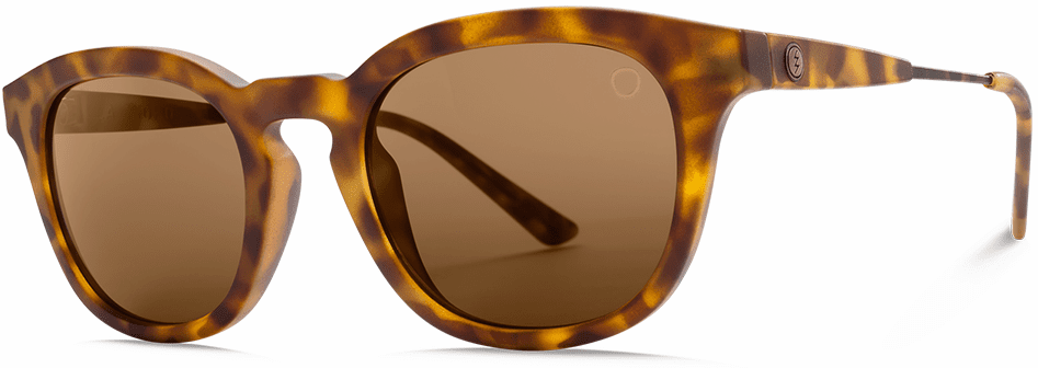 Electric LA TXOKO Sunglasses<br>Matte Spotted Tort/OHM Bronze