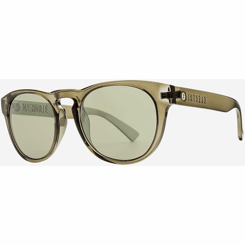 Electric Nashville Sunglasses<br>Gloss Olive/Vintage Green