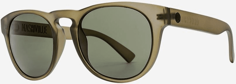 Electric Nashville Sunglasses<br>Matte Olive/Grey Polarized