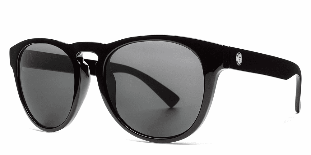 Electric Nashville XL Sunglasses<br>Gloss Black/OHM Grey Polarized
