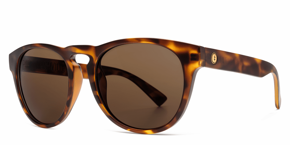 Electric Nashville XL Sunglasses<br>Matte Tort/OHM Bronze Polarized