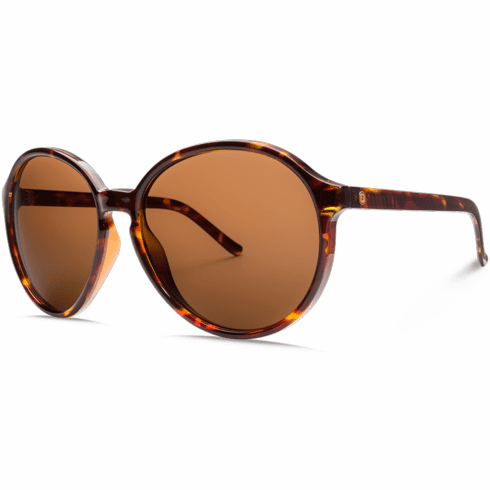 Electric Riot Sunglasses<br>Gloss Tort/Melanin Bronze