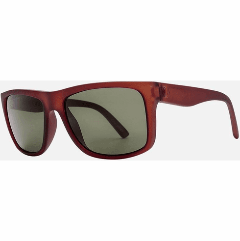 Electric Swingarm Sunglasses<br>Cola/Grey Polarized