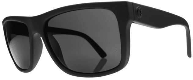 Electric Swingarm Sunglasses<br>Matte Black/Melanin Grey