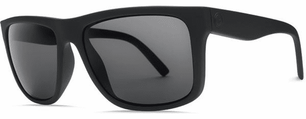 Electric Swingarm Sunglasses<br>Matte Black/Melanin Grey Polarized