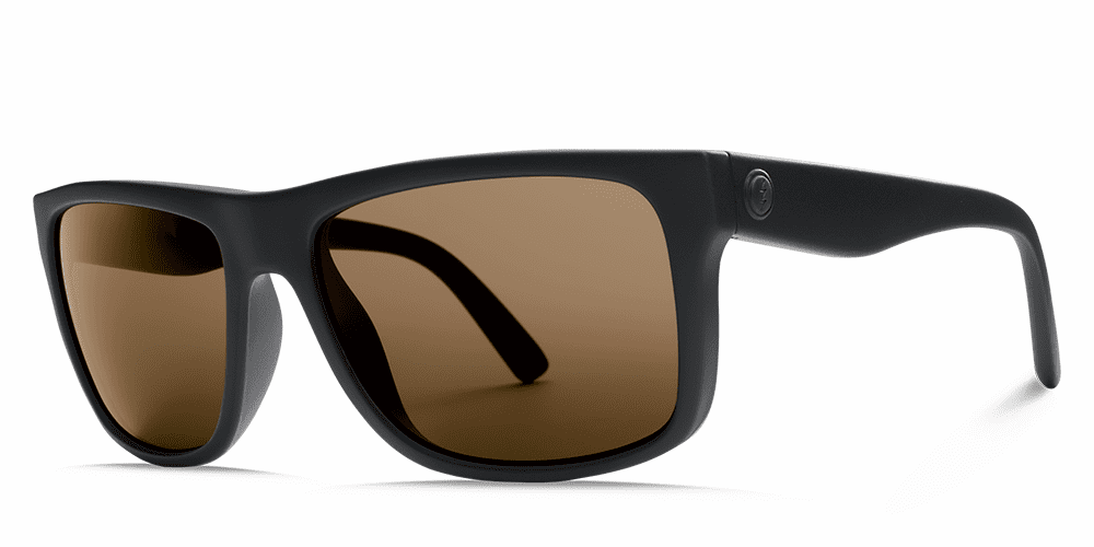 Electric Swingarm Sunglasses<br>Matte Black/OHM Bronze Polarized
