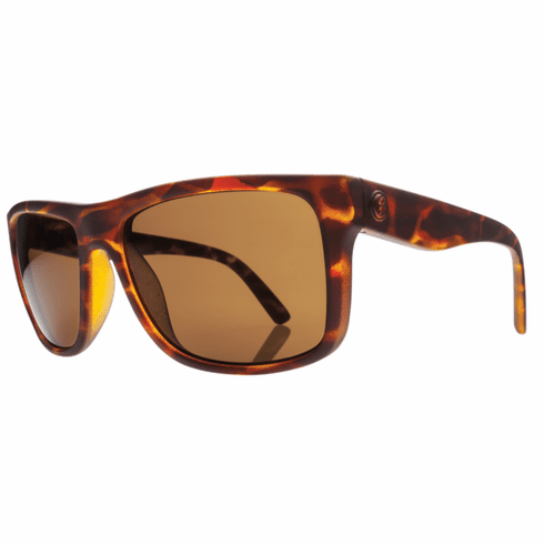 Electric Swingarm Sunglasses<br>Matte Tortoise Shell/Melanin Bronze Polarized<br>Level I