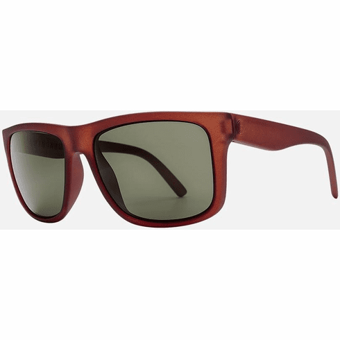 Electric Swingarm XL Sunglasses<br>Cola/Grey Polarized