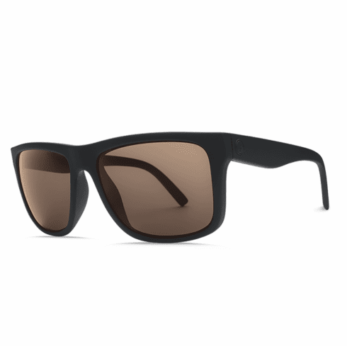 Electric Swingarm XL Sunglasses<br>Matte Black/OHM Bronze Polarized