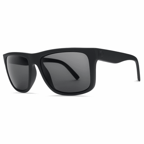 Electric Swingarm XL Sunglasses<br>Matte Black/Grey Polarized