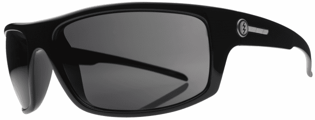 Electric Tech One Sunglasses<br>Gloss Black/Melanin Grey Polarized<br>Level I
