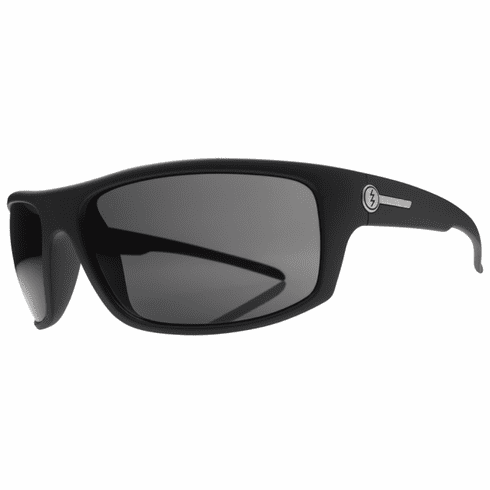Electric Tech One Sunglasses<br>Matte Black/Melanin Grey Polarized<br>Level I