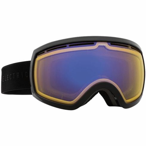 Electric Visual EG2.5 Snow Goggles<br>Gloss Black/Yellow Blue Chrome<br>+ Light Green Bonus Lens