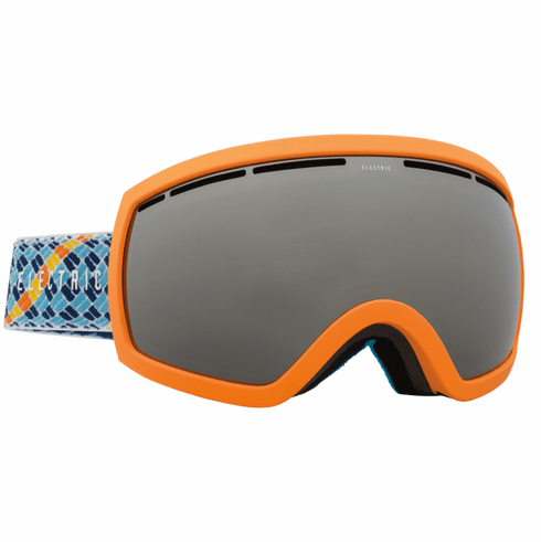 Electric Visual EG2.5 Snow Goggles<br>Navy Blue Rope/Bronze w/Silver Chrome<br>+ Light Green Bonus Lens